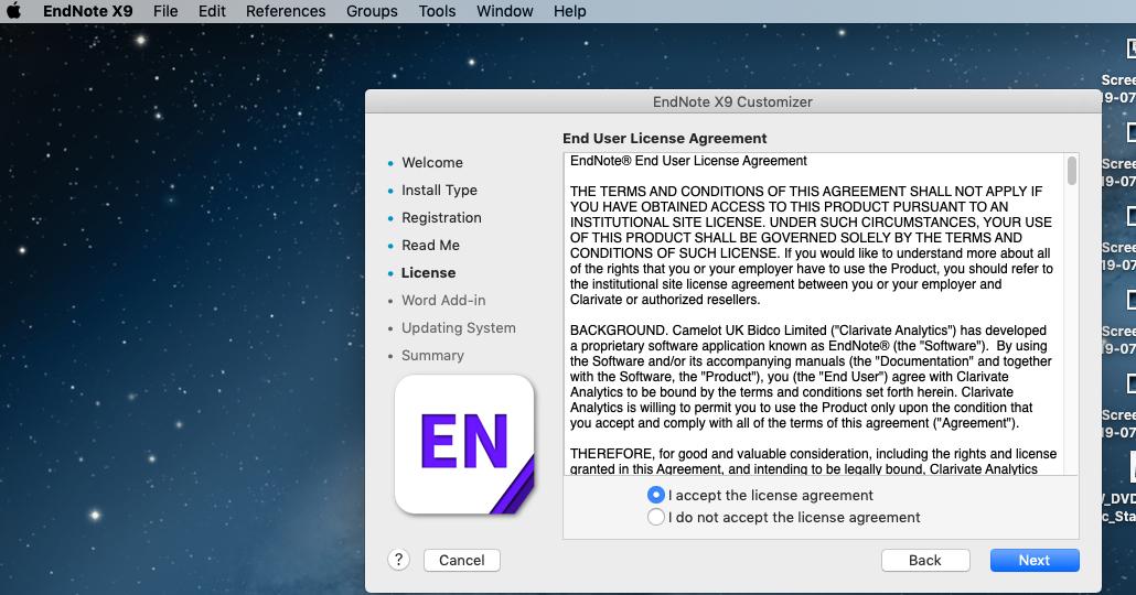 Endnote 9 mac